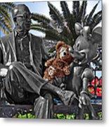 Bear And His Mentors Walt Disney World 06 Metal Print