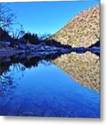 Bear Canyon Pool Metal Print