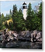 Bear Island Lighthouse Metal Print