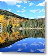 Bear Lake Reflection Metal Print by Tranquil Light  Photography
