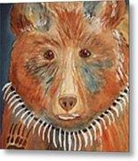 Bear Medicine Metal Print by Ellen Levinson