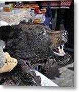 Bear Skins For Sale Metal Print