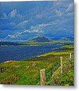 Beara Peninsula West Kerry - On The Road To Lauragh Again Metal Print