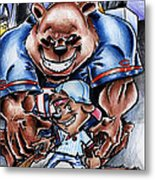 Bears And Cubs Metal Print by Big Mike Roate