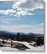 Beartooth Pass Clouds Metal Print