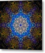 Beartooth Pass Kaleidoscope Metal Print