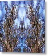 Beast In The Sacred Forest Metal Print