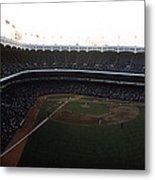 Beautiful Right Field View Of Old Yankee Stadium Metal Print