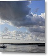 Beating The Storm Metal Print