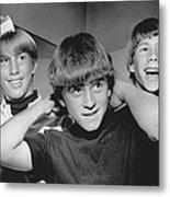 Beatle Haircuts Get Reprieve Metal Print