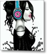 Beats So Sweet Metal Print