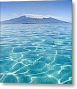 Beauitful Seascape Of Moorea Metal Print