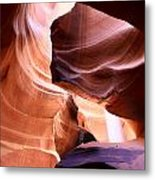 Beautiful Antelope Canyon Colors Metal Print