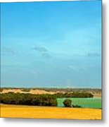 Beautiful Bay In A Desert Metal Print