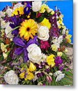 Beautiful Bouquet Of Flowers Metal Print