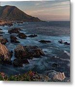 Beautiful California Coast In Spring Metal Print by Mike Reid