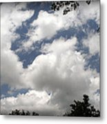 Beautiful Clouds Roll By Metal Print