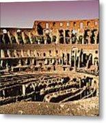 Beautiful Colosseum Rome Metal Print