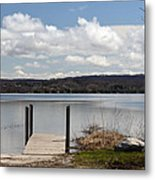 Beautiful Day At The Lake Metal Print