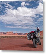 Beautiful Day For A Ride Metal Print