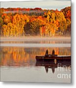 Beautiful Ending To A Great Summer Metal Print