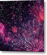 Beautiful Fireworks 12 Metal Print