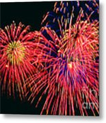 Beautiful Fireworks 14 Metal Print