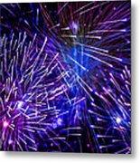 Beautiful Fireworks  3 Metal Print