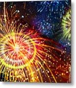 Beautiful Fireworks 8 Metal Print