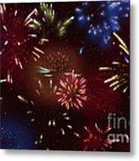 Beautiful Fireworks 9 Metal Print