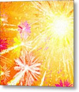 Beautiful Fireworks Metal Print
