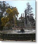 Beautiful Fountain In Lal Bagh Metal Print