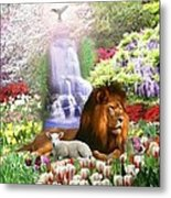 Beautiful Garden Metal Print