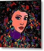Beautiful Gypsy Metal Print