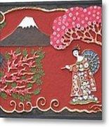 Beautiful Japan Metal Print by Otil Rotcod