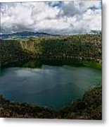 Beautiful Lake Guatavita Metal Print