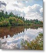 Beautiful Lake Reflections Metal Print
