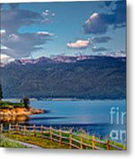 Beautiful Lake View Metal Print