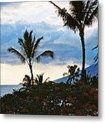 Beautiful Maui Lan 44 Metal Print