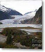 Beautiful Mendenhall Glacier Metal Print
