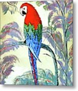 Beautiful Parrot For Someone Special Metal Print