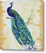 Beautiful Peacock-b Metal Print