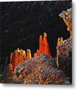 Beautiful Pinnacles At Bryce Canyon Metal Print