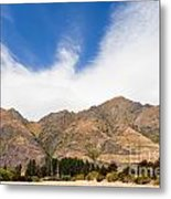 Beautiful Roys Peak Near Wanaka In Southern Alps Of New Zealand Metal Print