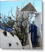 Beautiful Santorini Metal Print