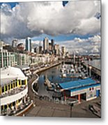 Beautiful Seattle Sky Metal Print by Mike Reid