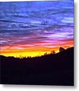 Beautiful Sky Metal Print