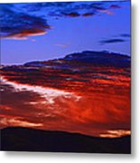 Beautiful Sunrise In Boise Metal Print