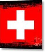 Beautiful Switzerland Flag Metal Print