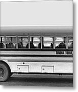 Beautiful Tour Bus At Barrow Metal Print